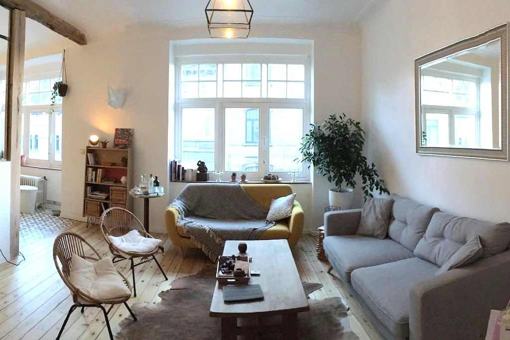 Chambre chez l'habitant - Bruxelles Schaerbeek - Schaerbeek - Apartamento