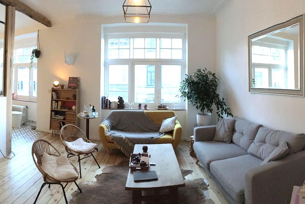 Chambre chez l'habitant - Bruxelles Schaerbeek - Schaerbeek - Leilighet