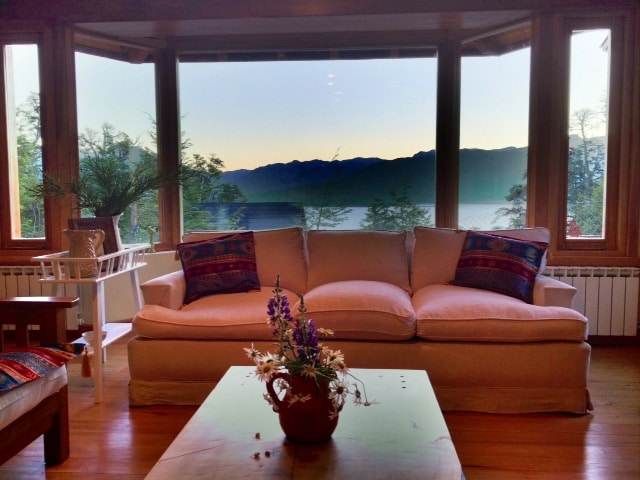 One of the amazing views we get at sunset from our living room.