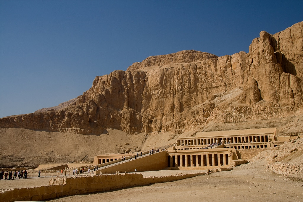 Hatshepsut Temple near us - you can rent a bike and enjoy cycling around the Valley of the Kings!