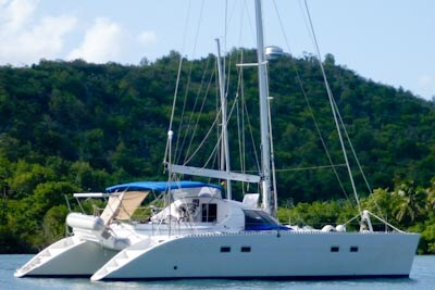 Sail with yacht, start @ St.Vincent