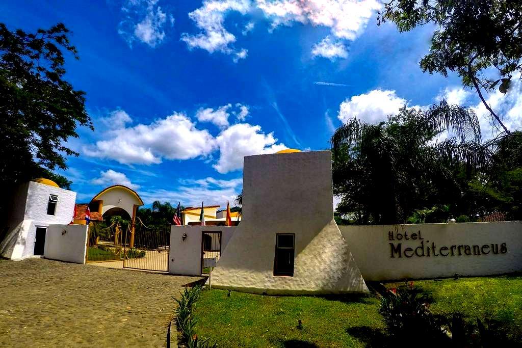 Escape al Paraíso,Hotel mediterraneus,3 personas - Santa Cruz - Bed & Breakfast