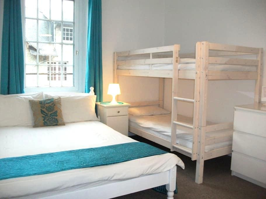 Le Mont St Michel -  room for 4 - Saint-Marcan - Bed & Breakfast