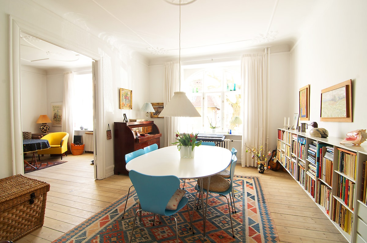 Single room (wifi) in classy Frederiksberg