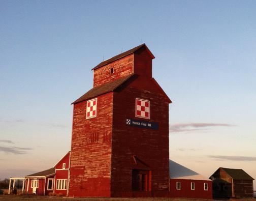 Historic Renovated Grain Elevator