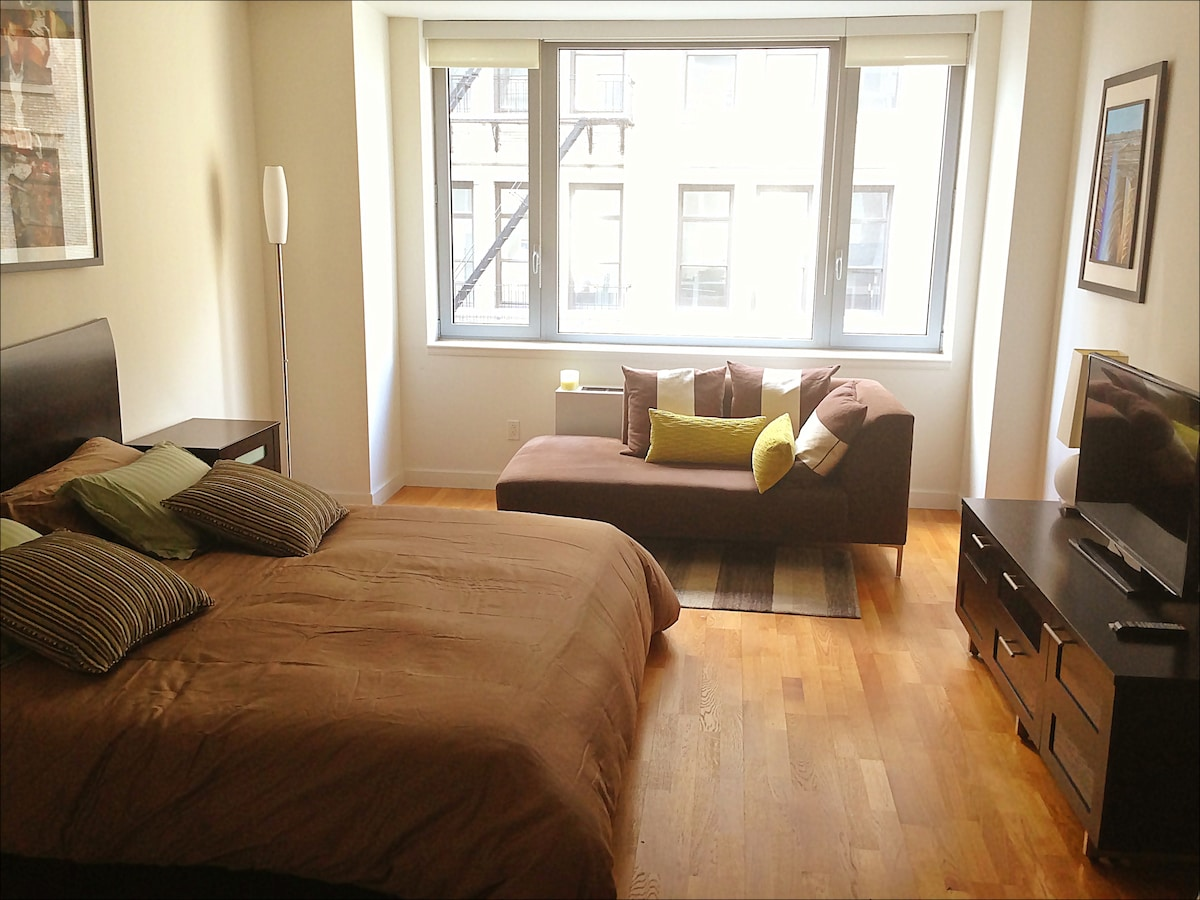 Amazing Studio in Exclusive TriBeCA