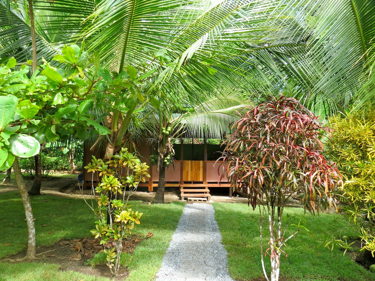 Private jungle beach cabin, Casa TiTi (named after the local monkeys),  on Costa Rica's Osa Peninsula