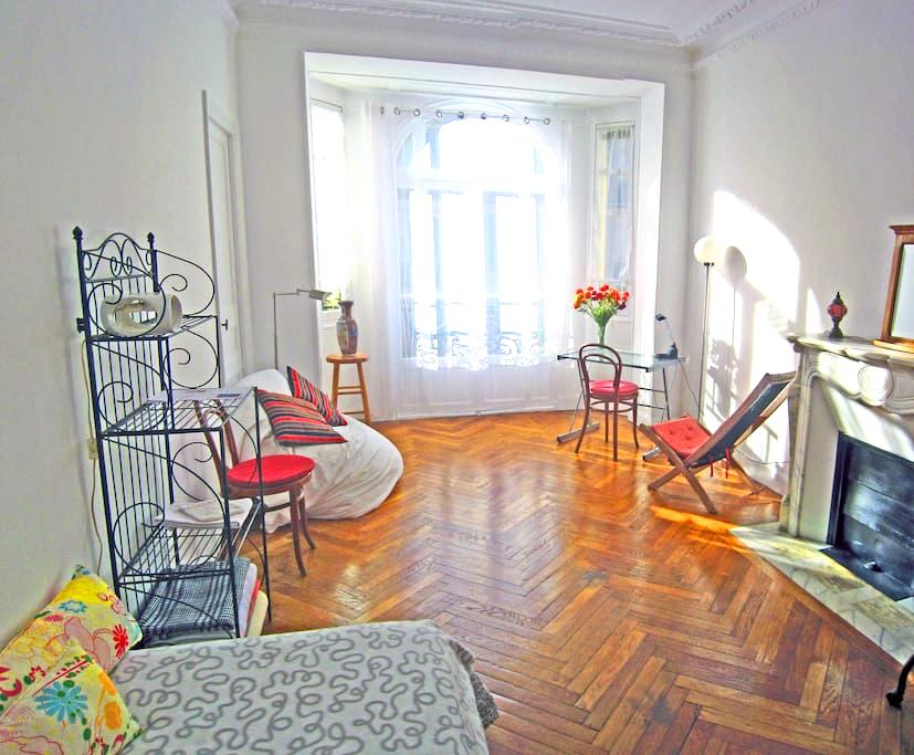Quiet room near the train station - Nice - Appartement
