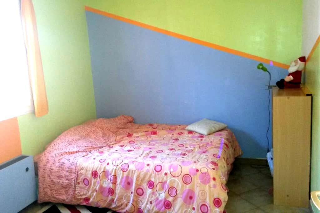 chambre privée dans maison avec jardin - Pont-Saint-Esprit - Rumah