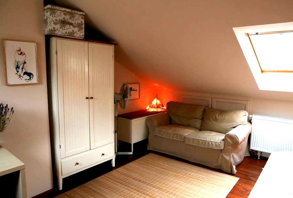 Appartement romantique Art Nouveau - Praga - Apartamento
