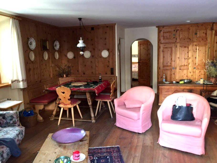 Appartamento con giardino - Celerina/Schlarigna