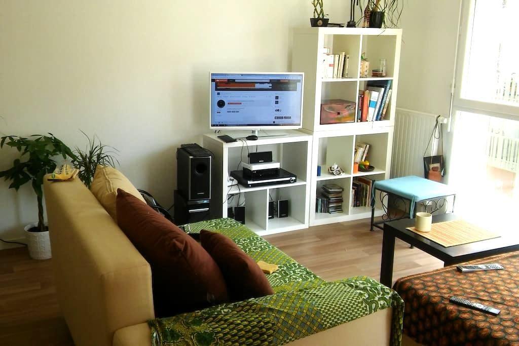 Logement de type 2, avec balcon, cuisine ouverte - Saint-Grégoire - Lägenhet