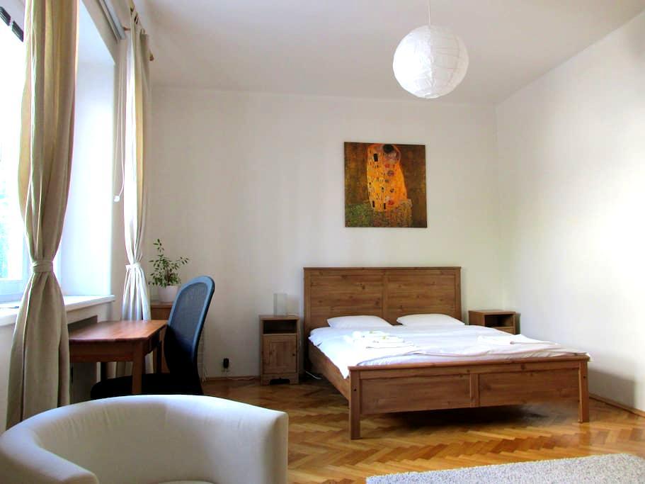 Spacious flat on a quiet street - Bratislava - Daire