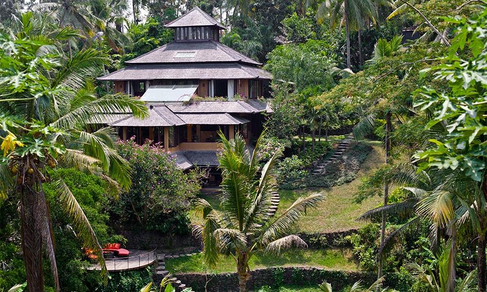 Pelangi Estate Main house exterior.