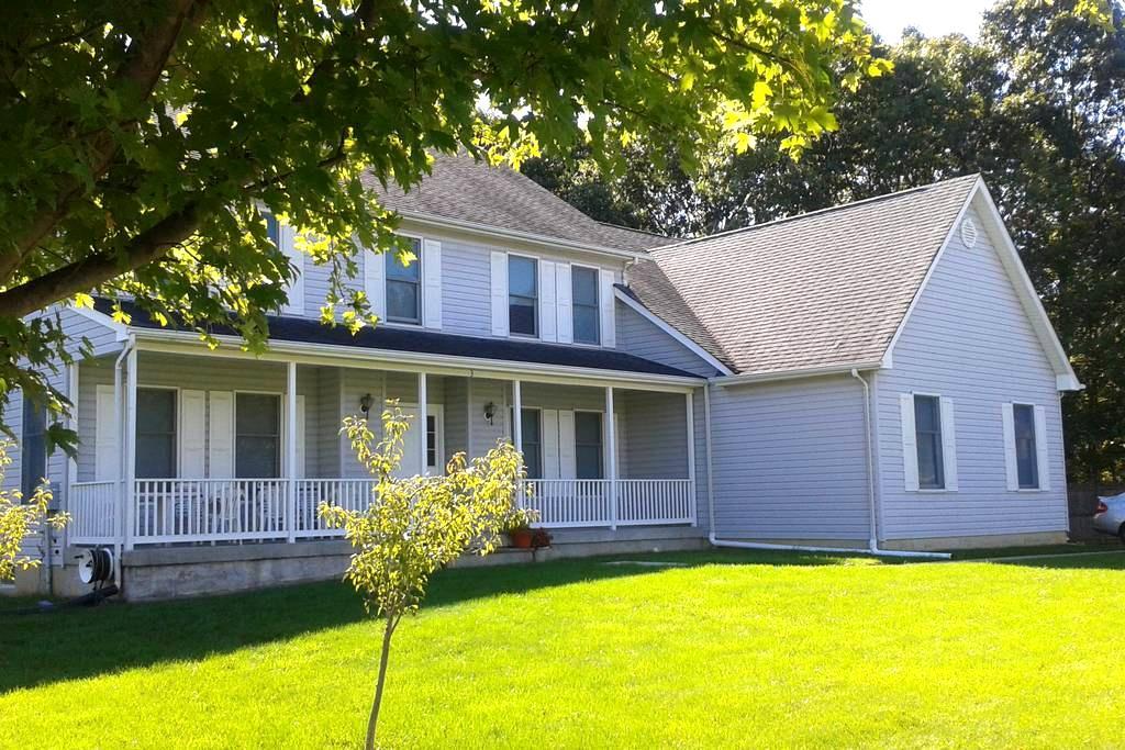 Large rm: Rutgers, Princeton, NYC, Jersey Shore - East Brunswick - Huis