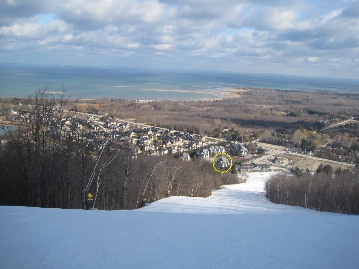 Ski in, ski out at Blue Mountain