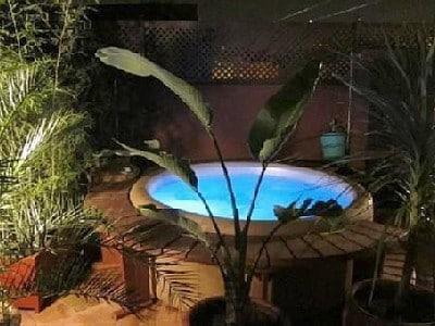Spa on the terrasse...  Riad  dar Kamar,, Marrakech, Airbnb