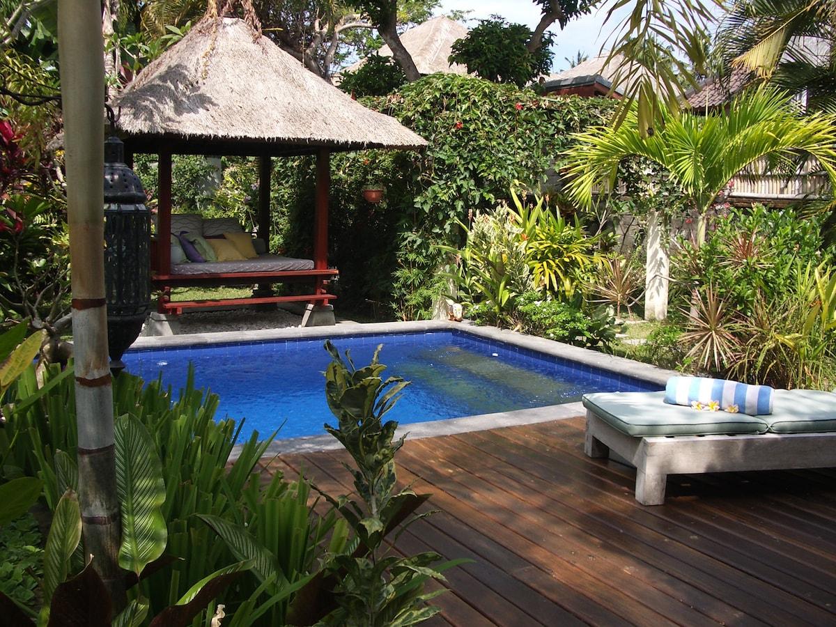 Private room in Villa, Sanur beach