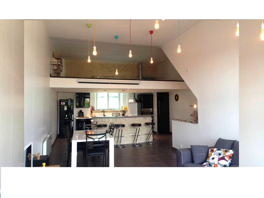 Magnificent Apartment 95 m2 Ground - Troyes - Apartamento