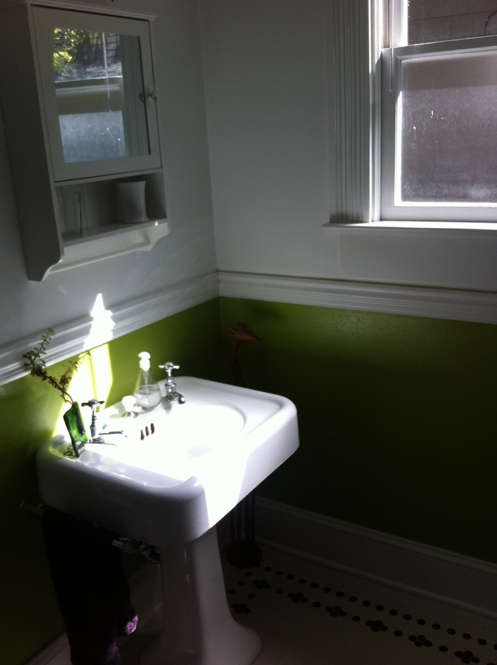 This is the original sink, from 1903!