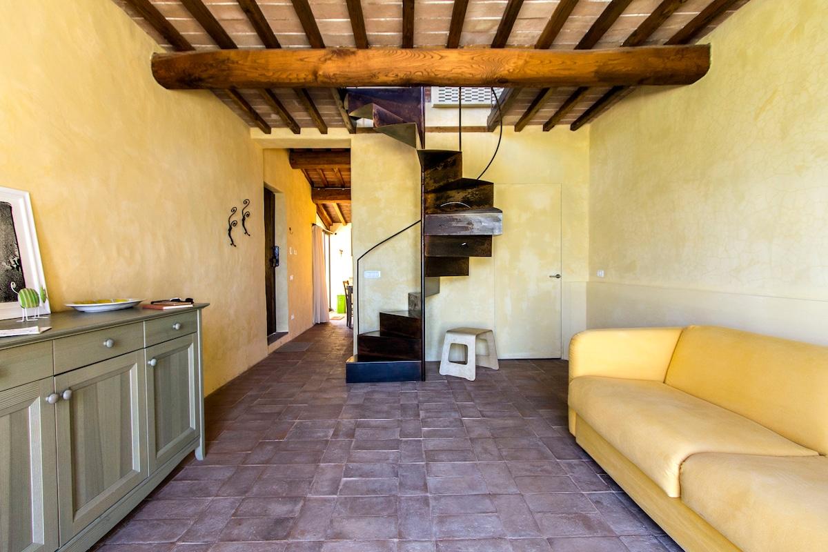 Il Fienile: living room | soggiorno