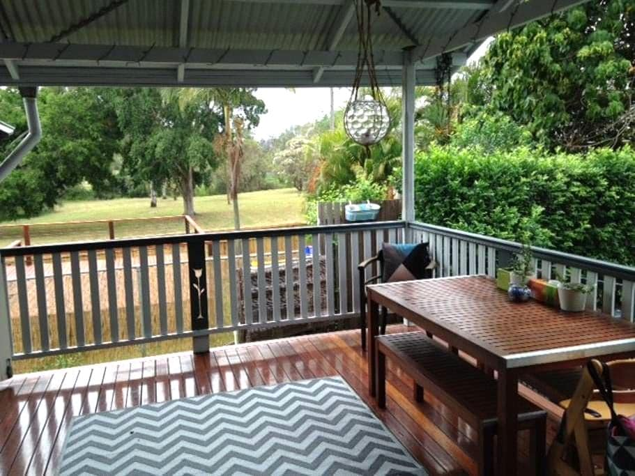 Charming cottage in Graceville with pool - Graceville - Ev