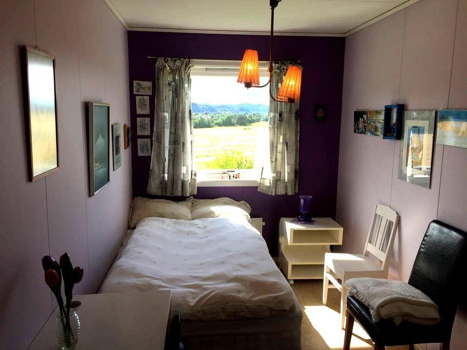 Komfortabelt rom med mange fasiliteter i Hegra - Hegra - Hus