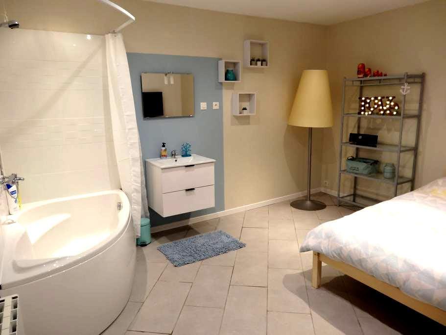 Chambres accueillantes au calme - Râches - Haus