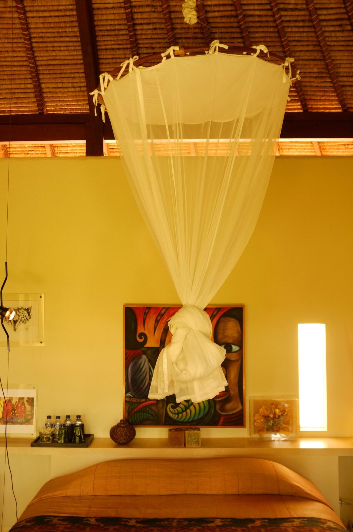 Villa Naga ,Salmon Room
