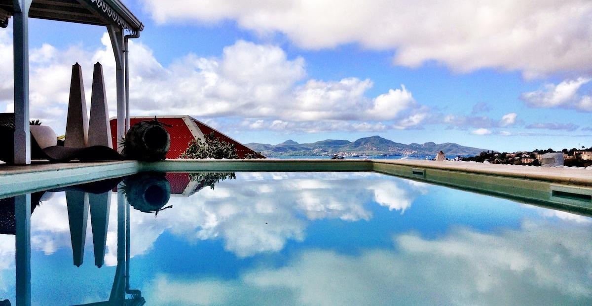 Studio prestige FdF, piscine privée