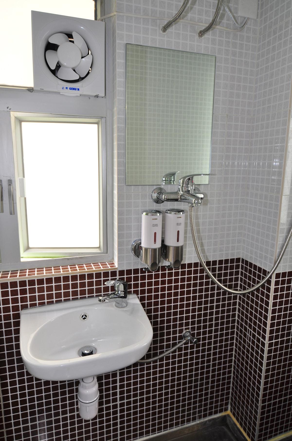 individual bathroom