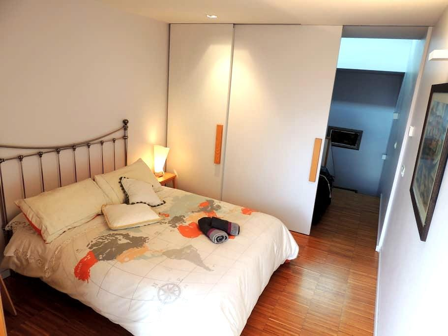 Single/Double Room - panoramic view to Cathedral - Santiago de Compostela - Haus