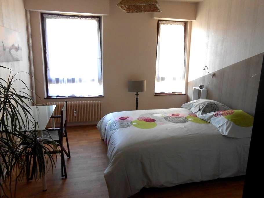 chambre avec accès cuisine sdb wc - Obernai