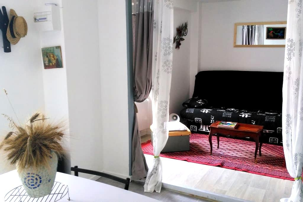 Studio cosy dans village de caractère - Saint-Vincent-de-Barrès - Apartemen