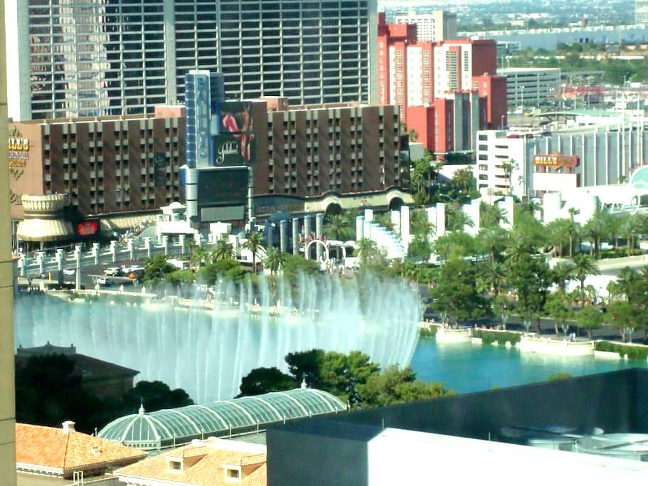 Vdara suite(Bellagio fountain view) - 라스베가스(Las Vegas)