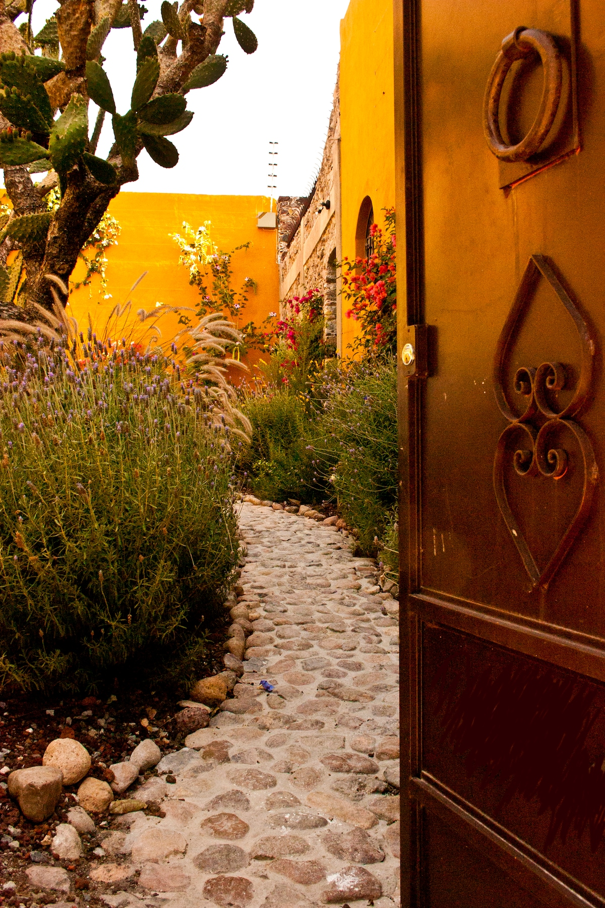 Private Entrance Off Street thru Garden