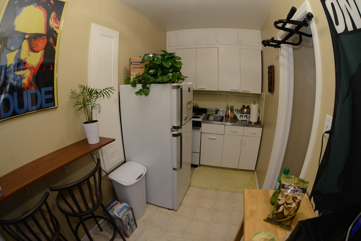 Small but fully functional kitchen