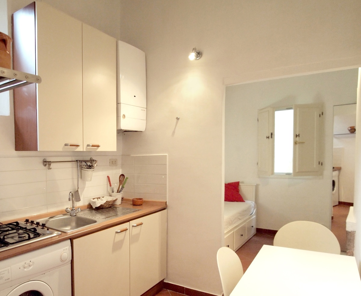 Cozy Florence studio in the center
