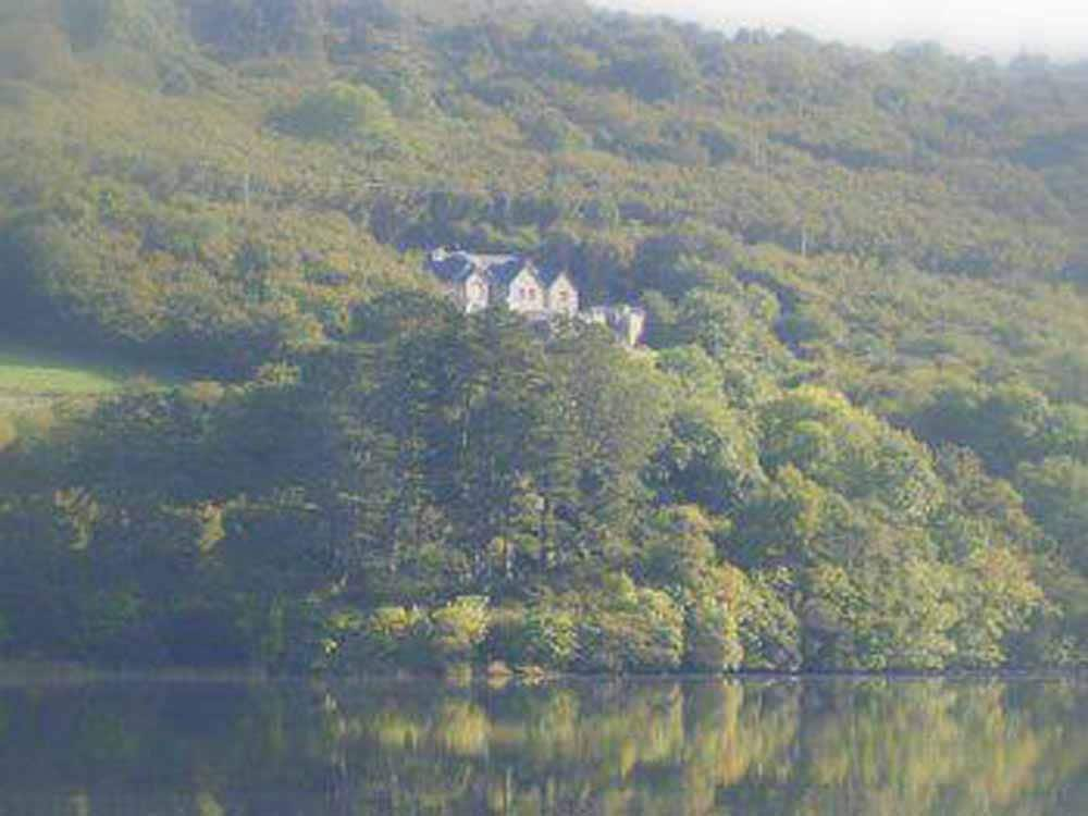 Castle View B&B with a view of Lough Gill