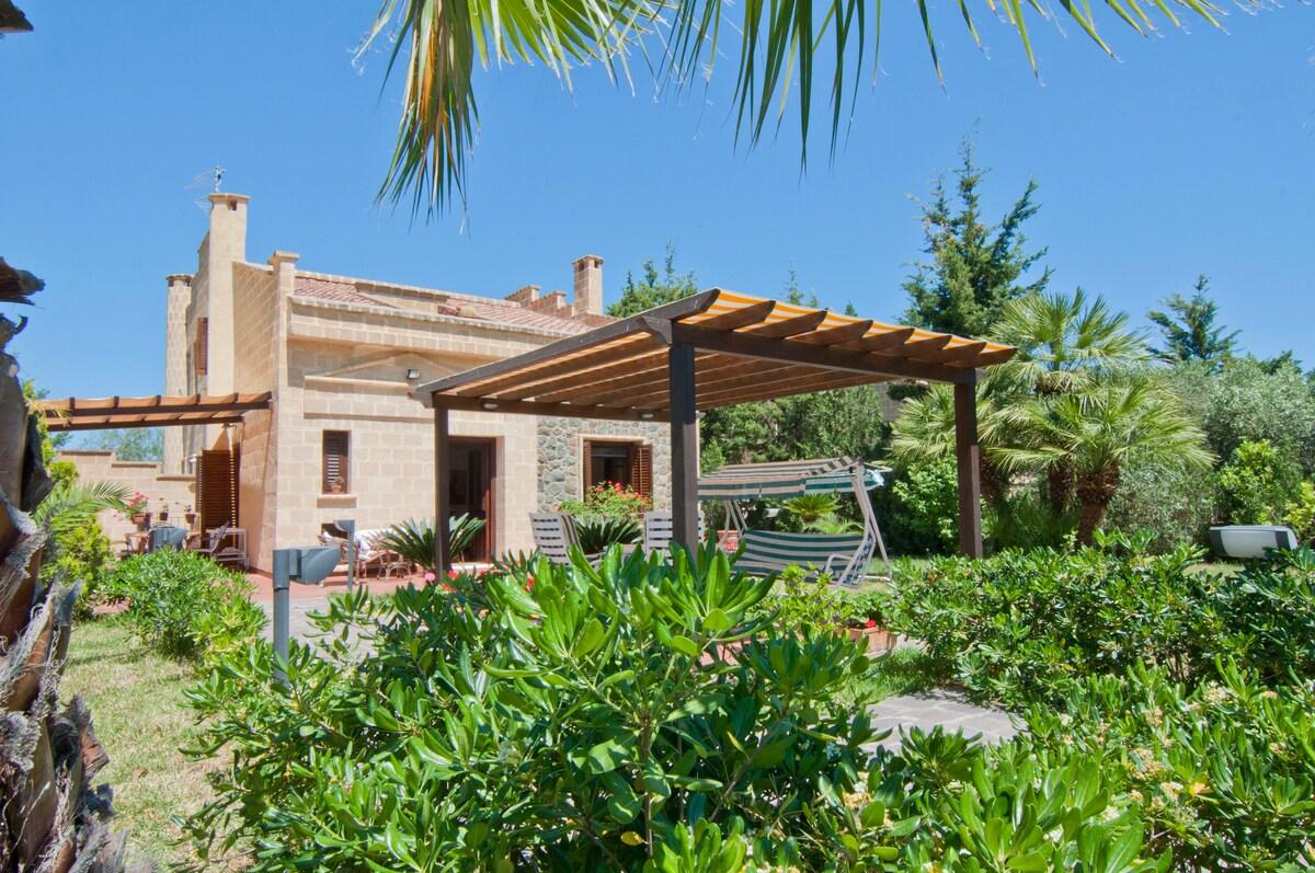 Sicily pool & garden - CEFALU