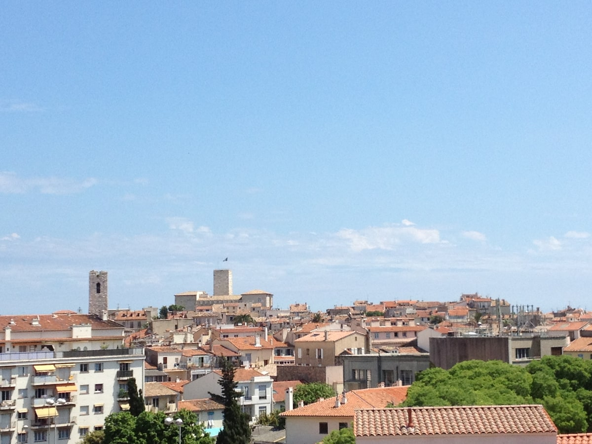 View on old town - from terrace