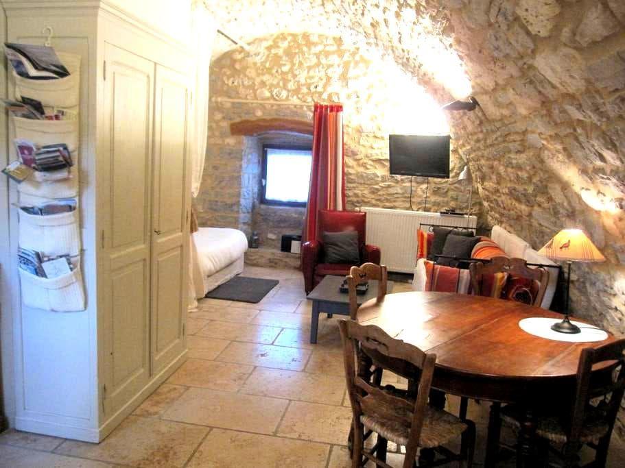 Gîte de charme 3* en pierres et lauzes - La Tieule - House