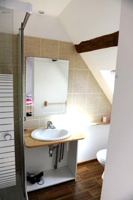 Chambre Bambou - Bonsmoulins - Casa