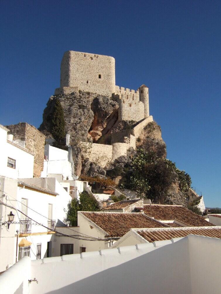 Moorish castle from the terrace