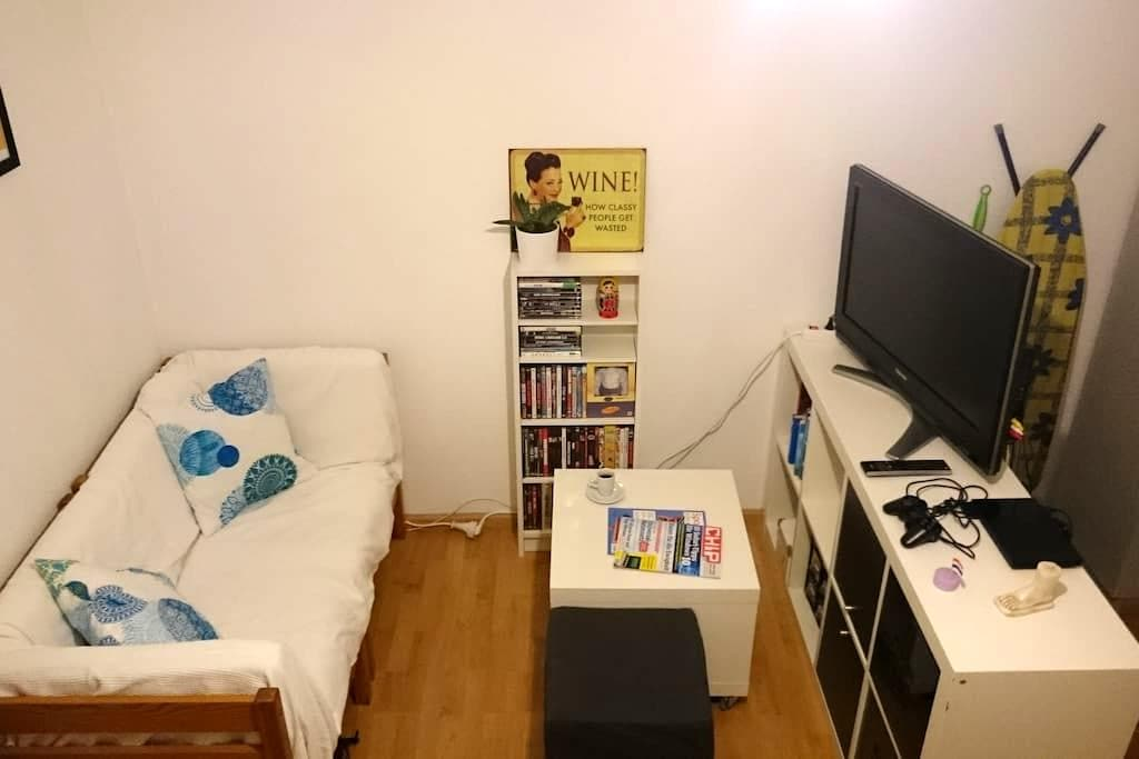 City Center Apartment with Balcony - Friburg - Pis