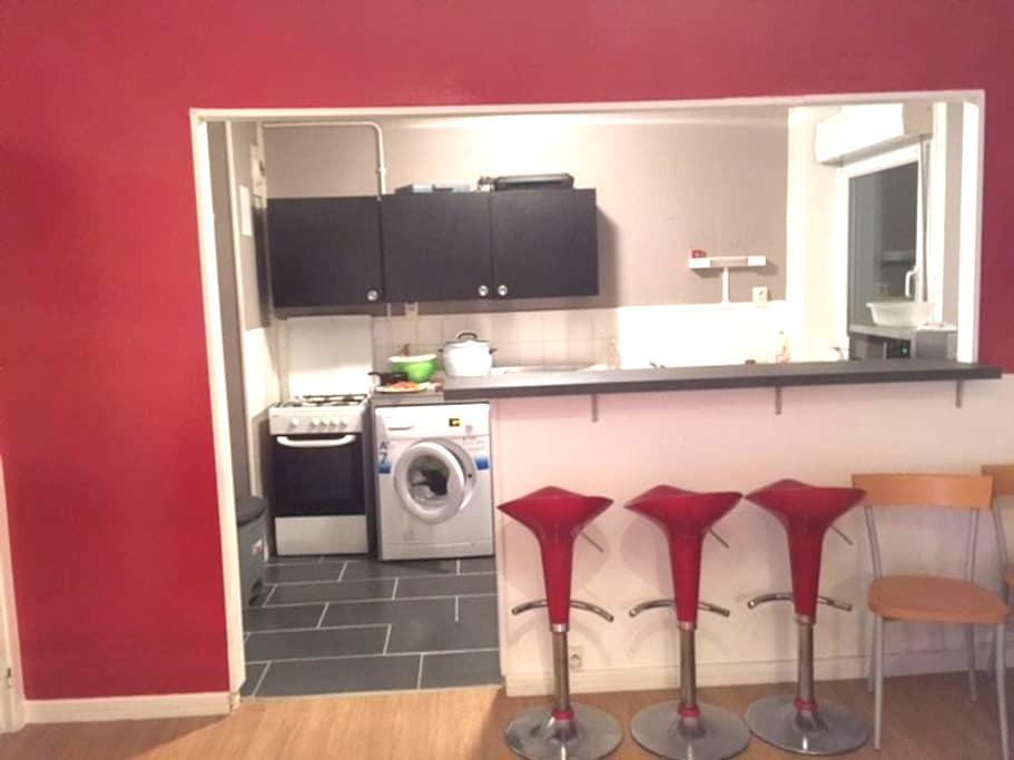 Chambre dans appartement - Hérouville-Saint-Clair - Apartment