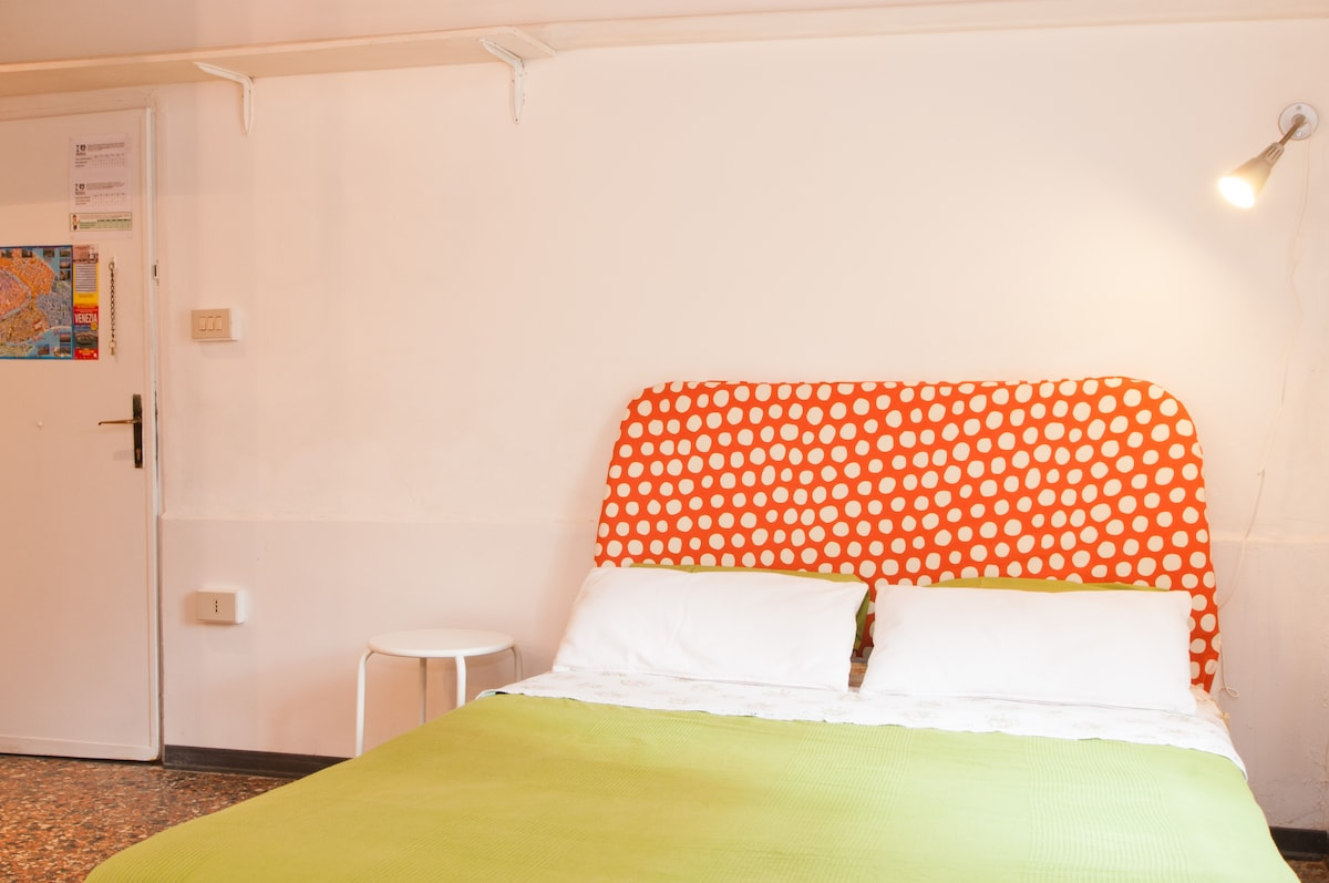 Confortable double bed