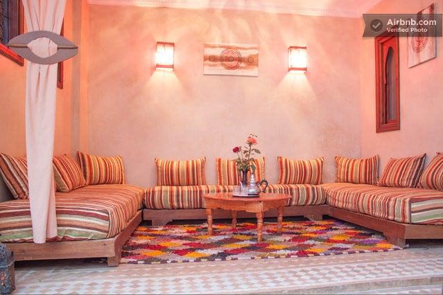 Central Room Riad Marrakech Medina