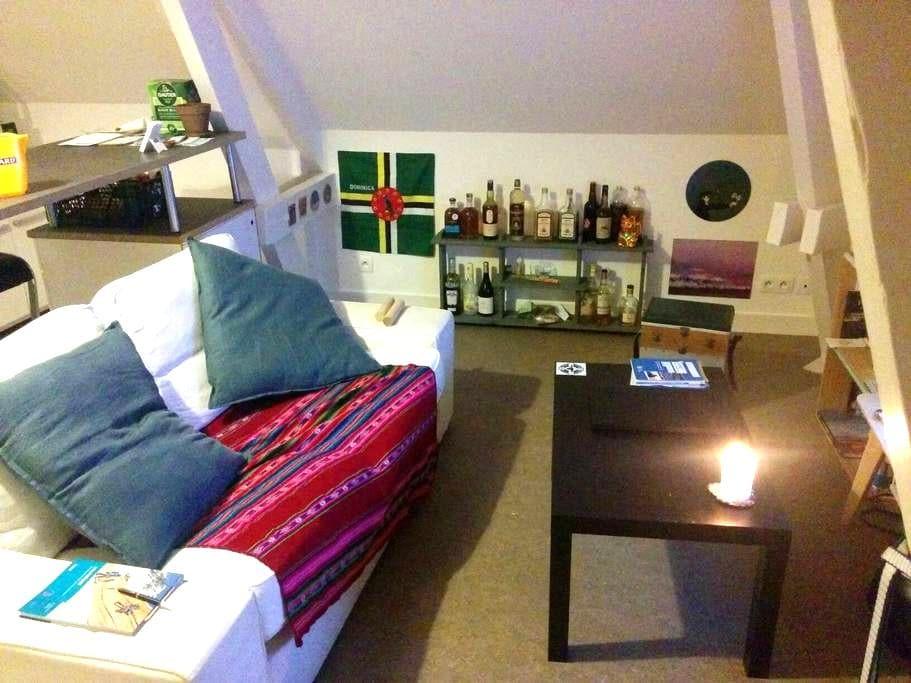 Beau studio coeur de Valognes - Valognes - Apartment