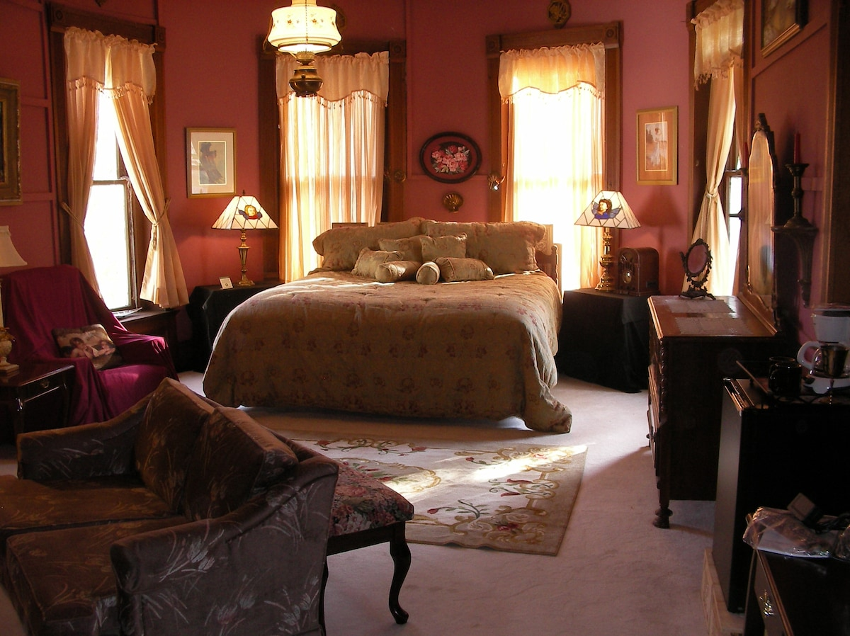 Each bedroom is unique and amazing.